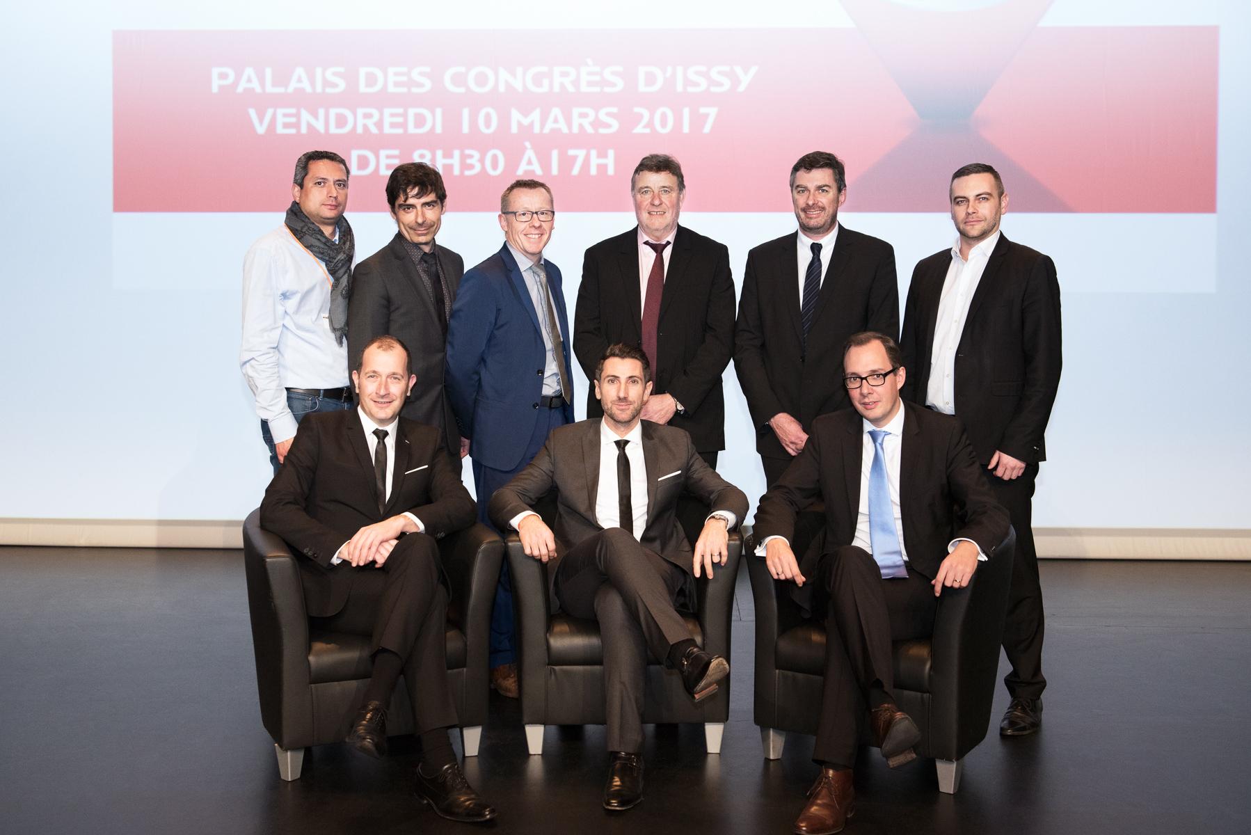 François Mondello nouveau président de l'Anea et les membres du comité directeur