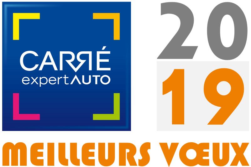 Meilleurs voeux 2019 de Carré Expert Auto
