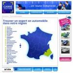 Page du site www.carre-expert-auto.org pour trouver un cabinet d'expertise en automobile